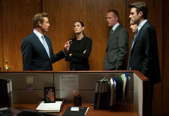 MARGIN CALL - Image 2 du film Simon Baker Demi Moore 2012 - Go with the Blog
