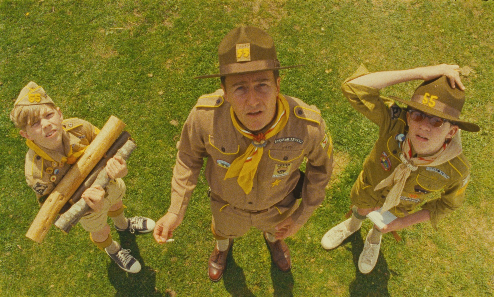 MOONRISE KINGDOM - image du film Wes Anderson Edward Norton - Go with the Blog