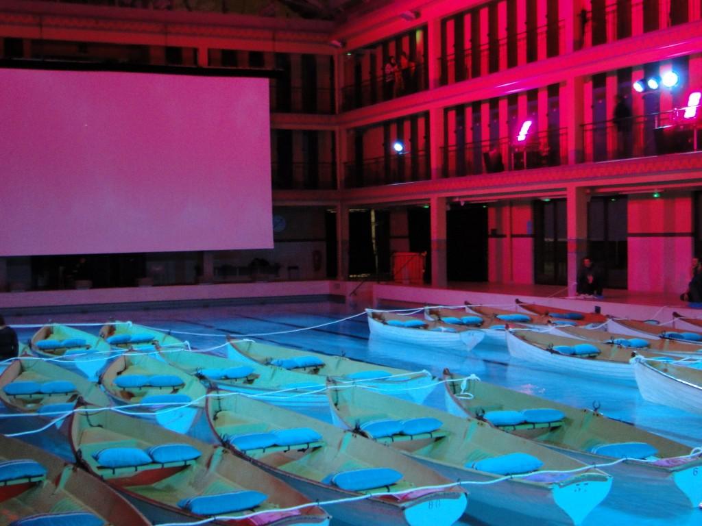 Avant premi re l 39 odyss e de pi l 39 espace pailleron for Piscine pailleron