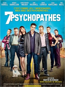 7 psychopathes - Affiche film