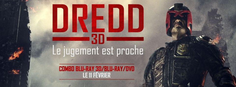 DREDD dvd blu-ray