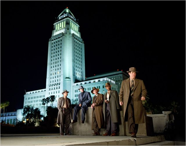 GANGSTER SQUAD - Photo 1 film Gangster Warner Bros France - Go with the Blog