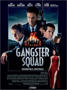 GANGSTER SQUAD affiche