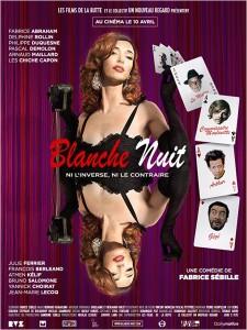 BLANCH NUIT - affiche du film