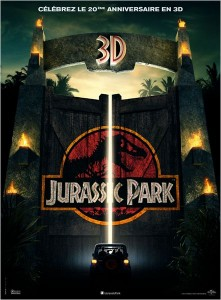 JURASSIC PARK 3D - affiche