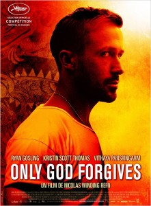 ONLY GOD FORGIVES - affiche Française