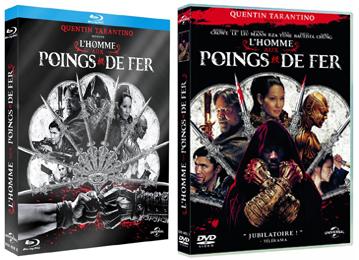 DVD Blu-ray L'HOMME AUX POINGS DE FER