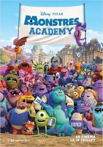 MONSTRES ACADEMY - affiche du film