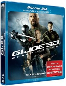 GI JOE BLURAY 3D
