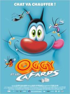 Oggy et les cafards - Affiche du film