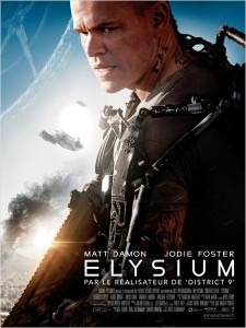 ELYSIUM - affiche française Go with the Blog