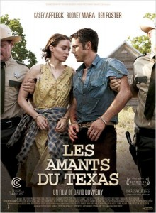 LES AMANTS DU TEXS - affiche du film