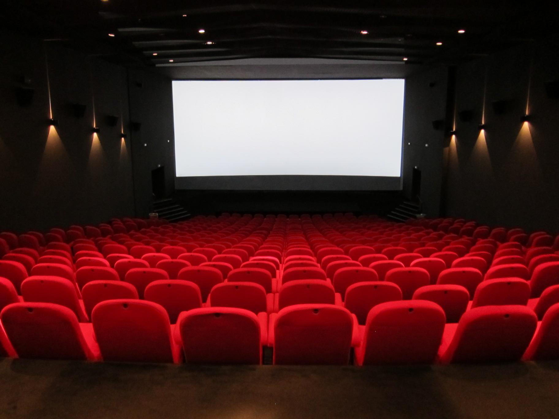 Salle de Cinéma - Go with the Blog