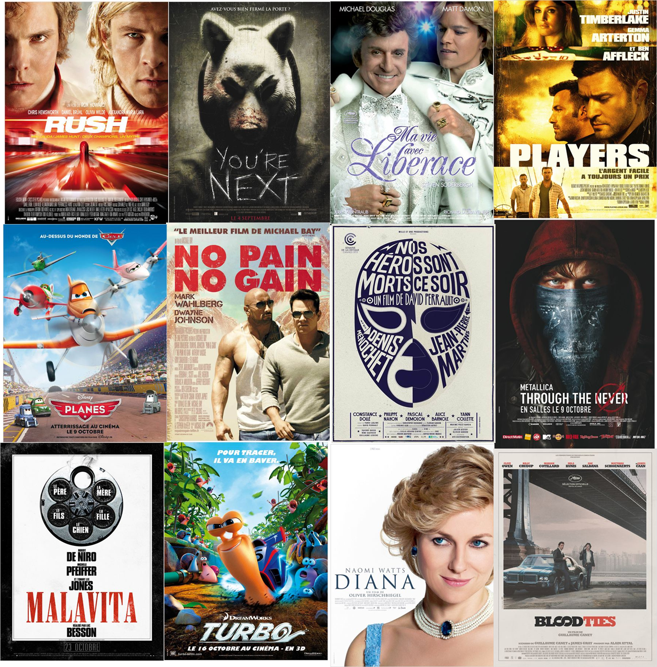 Cinéma : une rentrée 2013 bouillonnante dans les salles !
