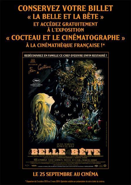 LA BELLE ET LA BÊTE - La Cinémathèquze française exposition 2013