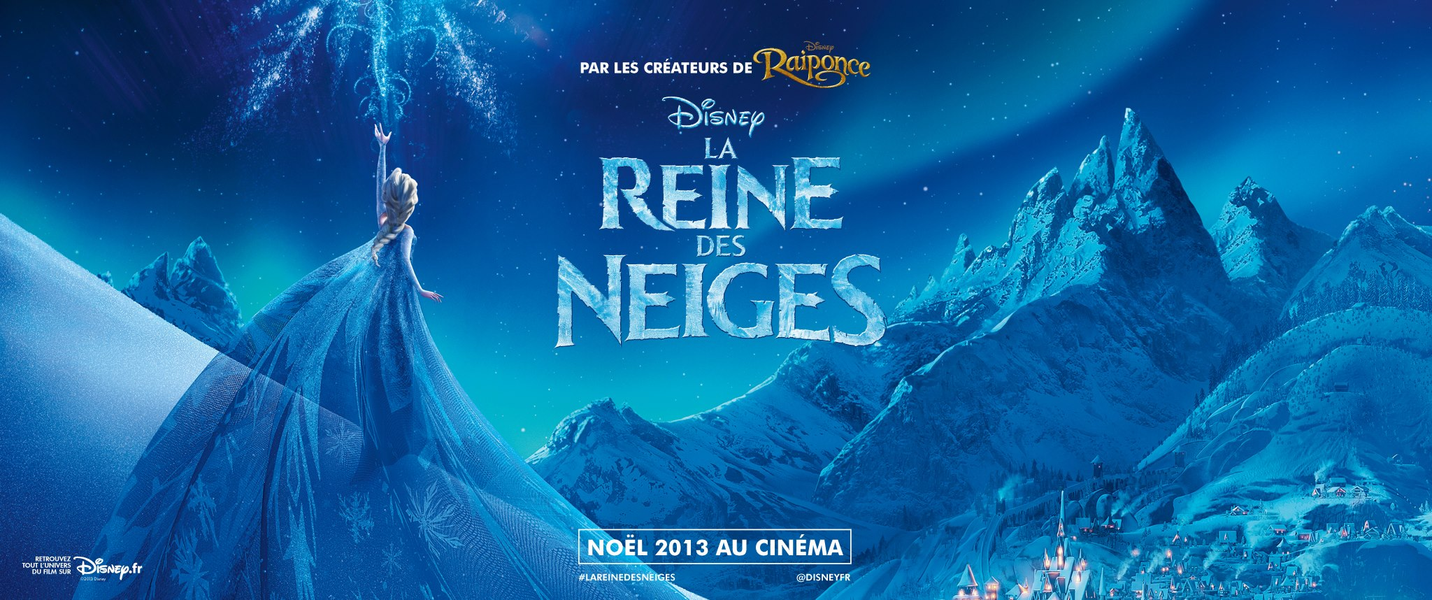 LA REINE DES NEIGES - bandeau - Go with the Blog
