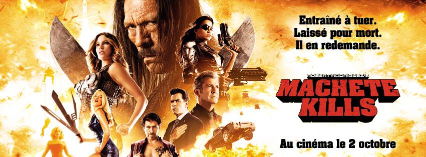 MACHETE KILLS - bandeau