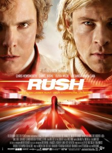 RUSH - affiche française du film - Go with the Blog
