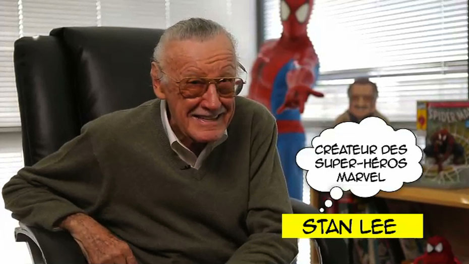 DERRIERE LE MASQUE DES SUPER-HEROS - image Stan Lee