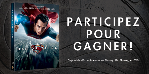 MAN OF STEEL - image concours blu-ray