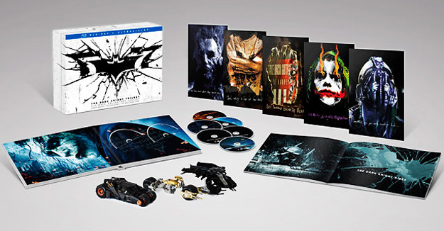 THE DARK KNIGHT - coffret collector Ultimate édition - WARNER