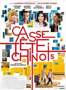 CASSE TÊTE CHINOIS - affiche du film - Go with the Blog