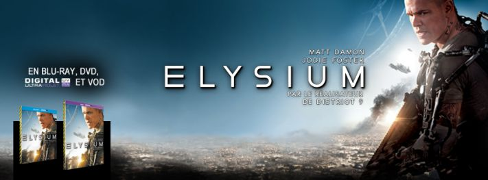 ELYSIUM - Blu-ray - Go with the Blog