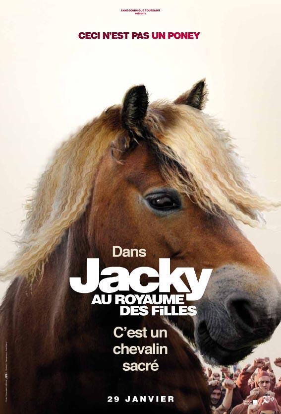 JACKY AU ROYAUME DES FILLES - affiche Poney