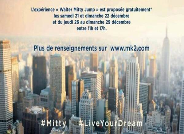 WALTER MITTY JUMP - Go with the Blog