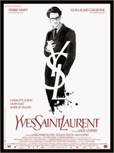 YVES SAINT LAURENT - affiche du film
