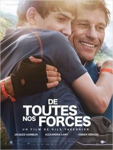 DE TOUTES NOS FORCES - affiche du film - Go with the Blog
