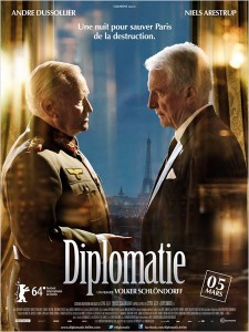DIPLOMATIE - affiche du film - Go with the Blog