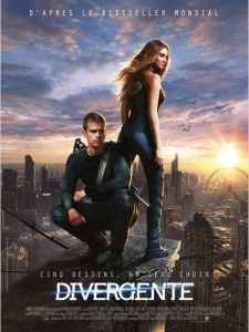 DIVERGENTE - affiche Fr - Go with the Blog
