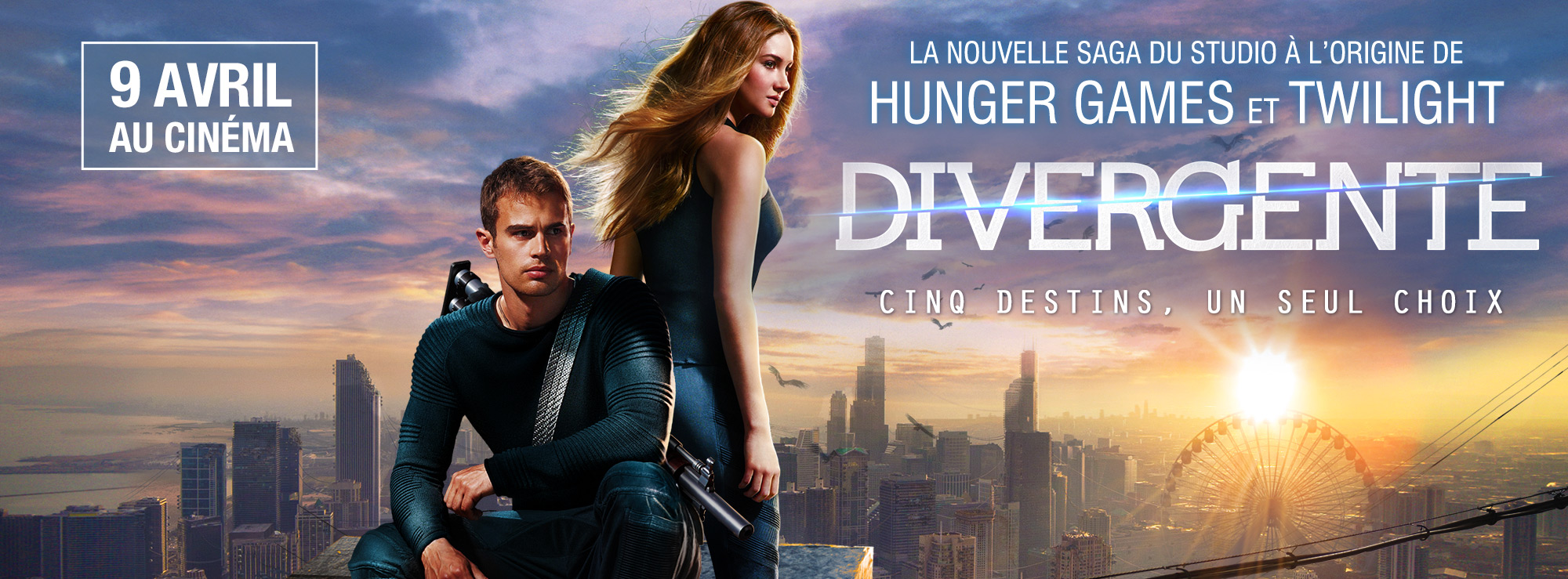 DIVERGENTE - bandeau du film - Go with the Blog
