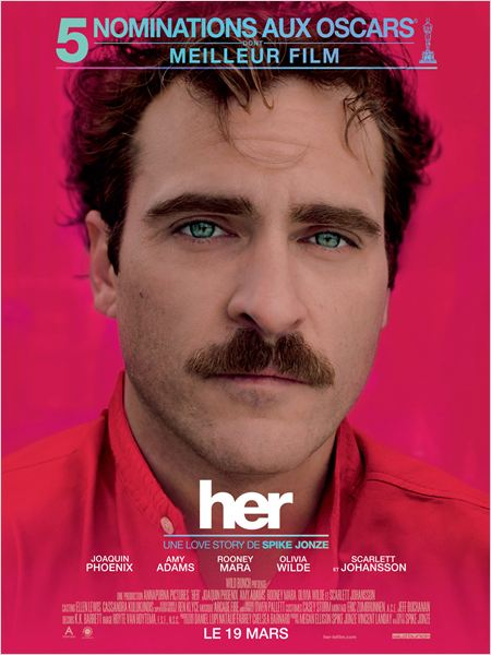 HER - affiche du film Spike Jonze - Go with the Blog