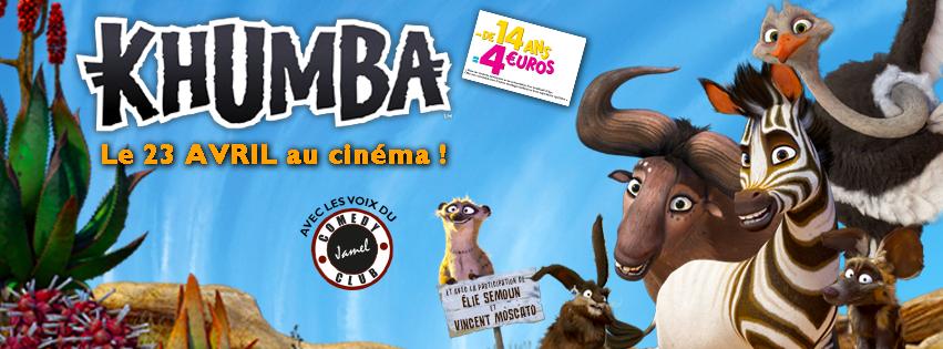 KHUMBA - bandeau du film 2 - Go with the Blog