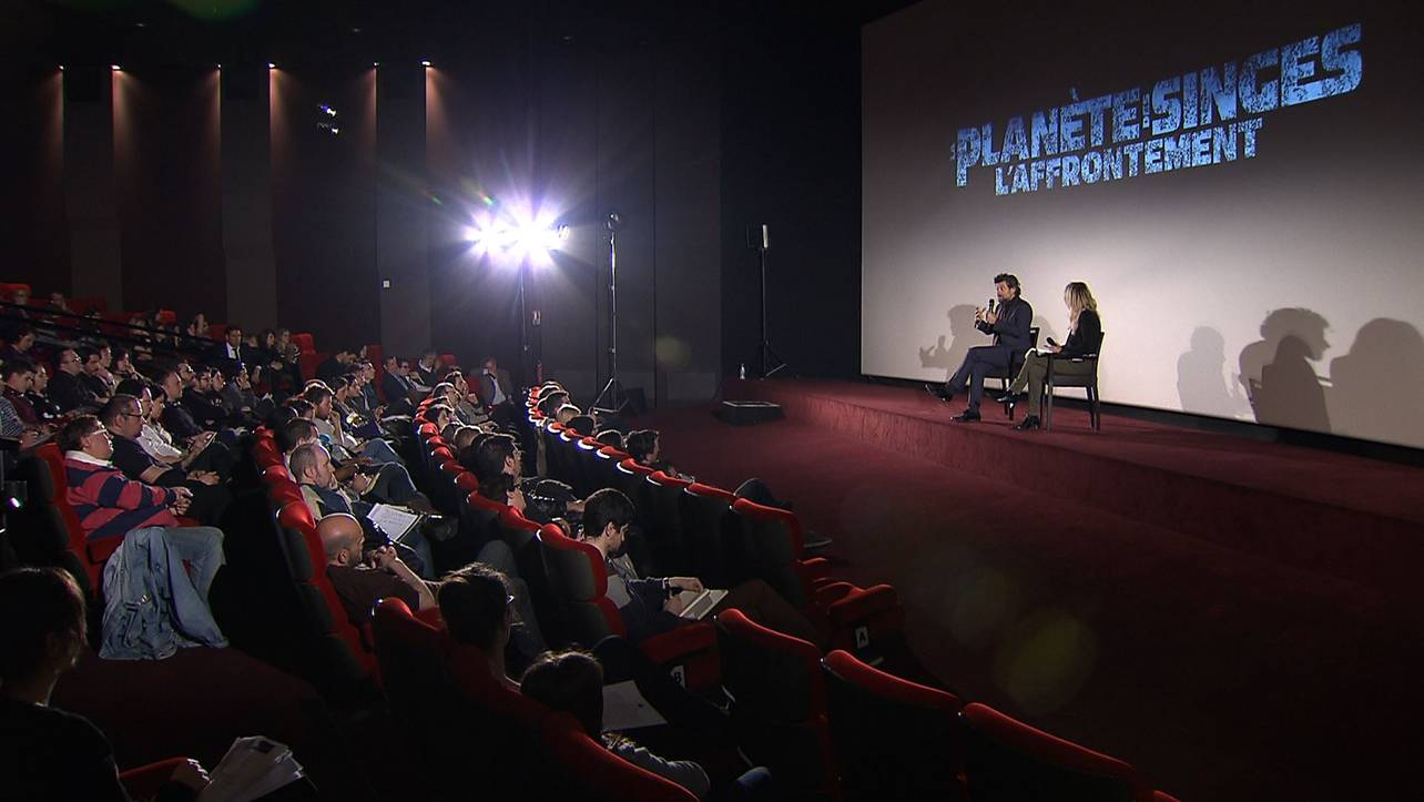 LA PLANÈTE DES SINGES - Roadshow Paris avec Andy Serkis 25 avril 2014 - Go with the Blog