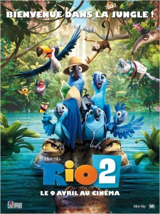 RIO 2 - affiche Française - Go with the blog