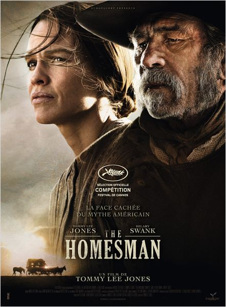 the homesman - affiche du film  - go with the blog