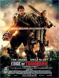 EDGE OF TOMORROW - affiche du film - go with the blog