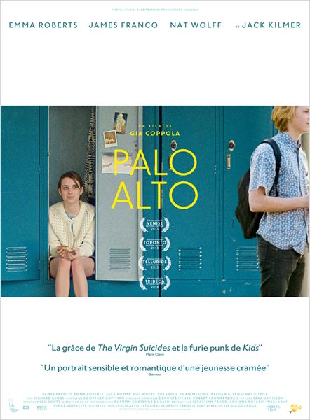 PALO ALTO - affiche du film - go with the blog