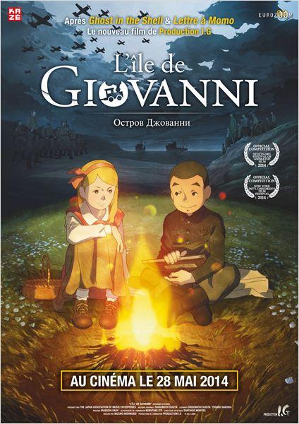 l'ile de giovanni - affiche du film