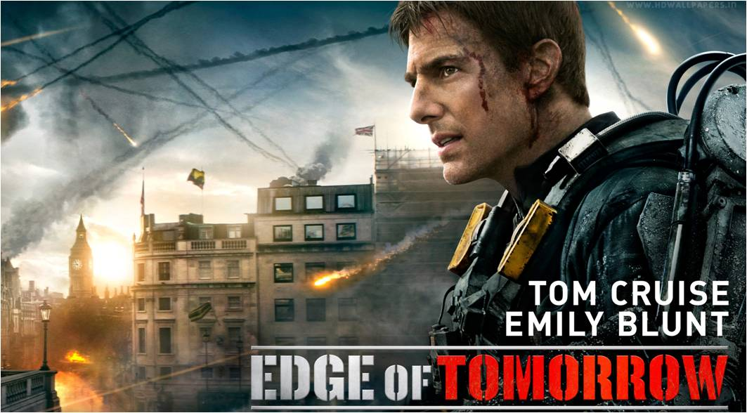 EDGE OF TOMORROW - bandeau du film France 3 - Go with the Blog