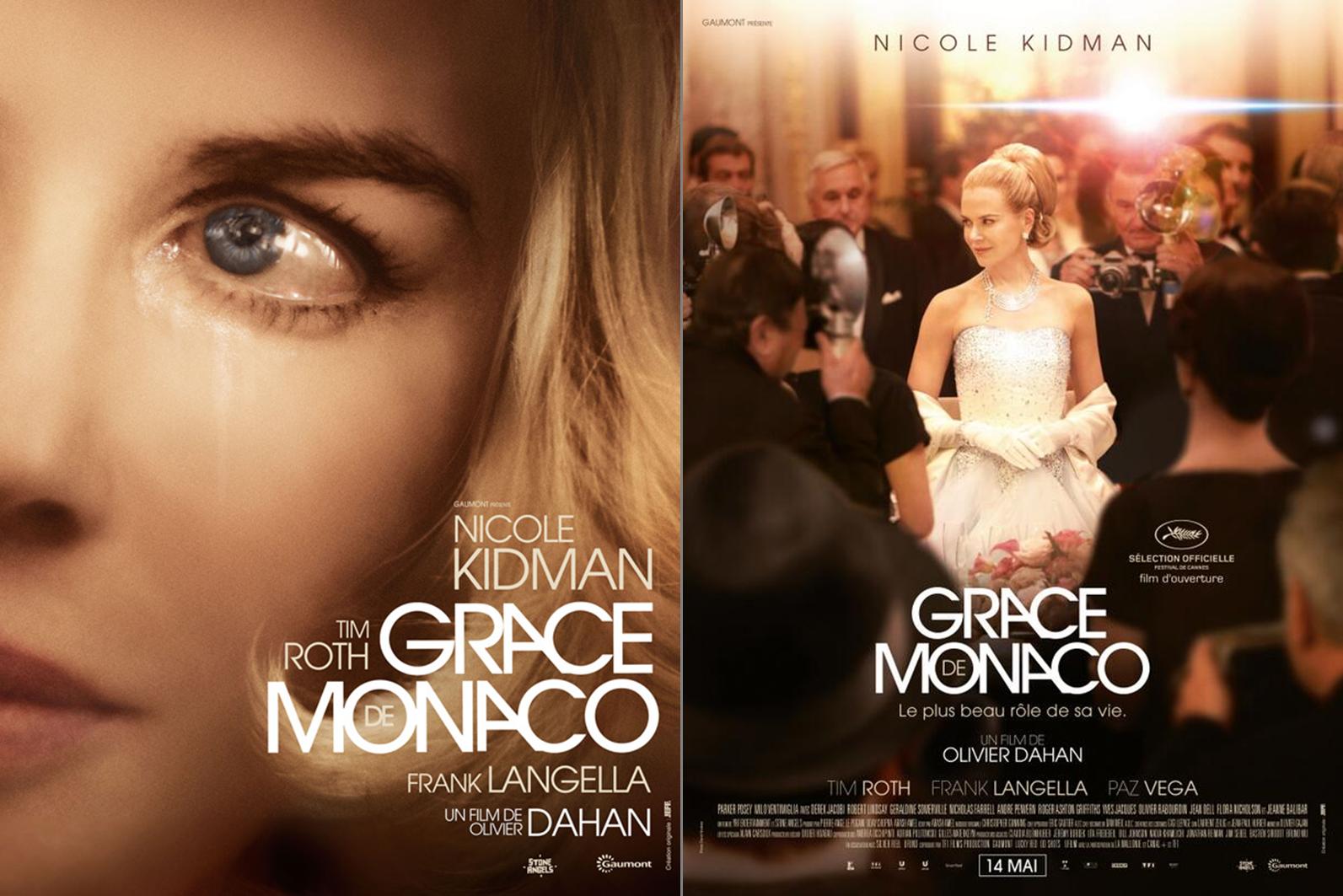 GRACE DE MONACO - les deux visuels affiches - Go with the Blog