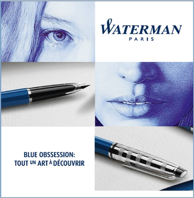 WATERMAN - Blue Obsession Invitation 2 - Go with the Blog