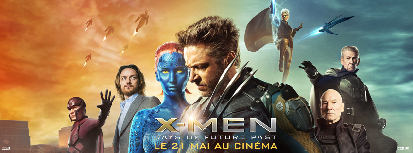 X-MEN DAYS OF FUTURE PAST - bandeau du film France - Go with the Blog