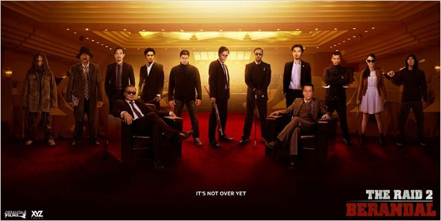 the raid 2 - go with the blog - bannière du film