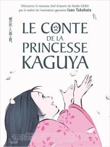 LE CONTE DE LA PRINCESSE KAGUYA - affiche du film go with the blog