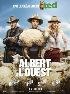 albert à l'ouest - go with the blog - affiche du film