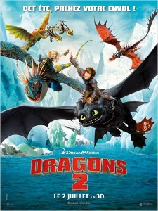 dragons 2 - go with the blog - affiche du film